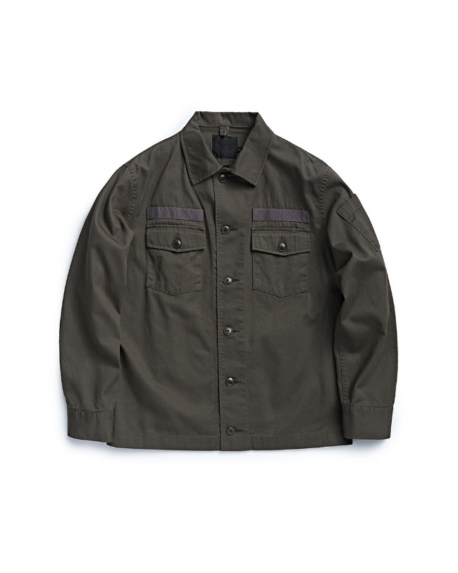 107 FIELD JACKET DARKOLIVE
