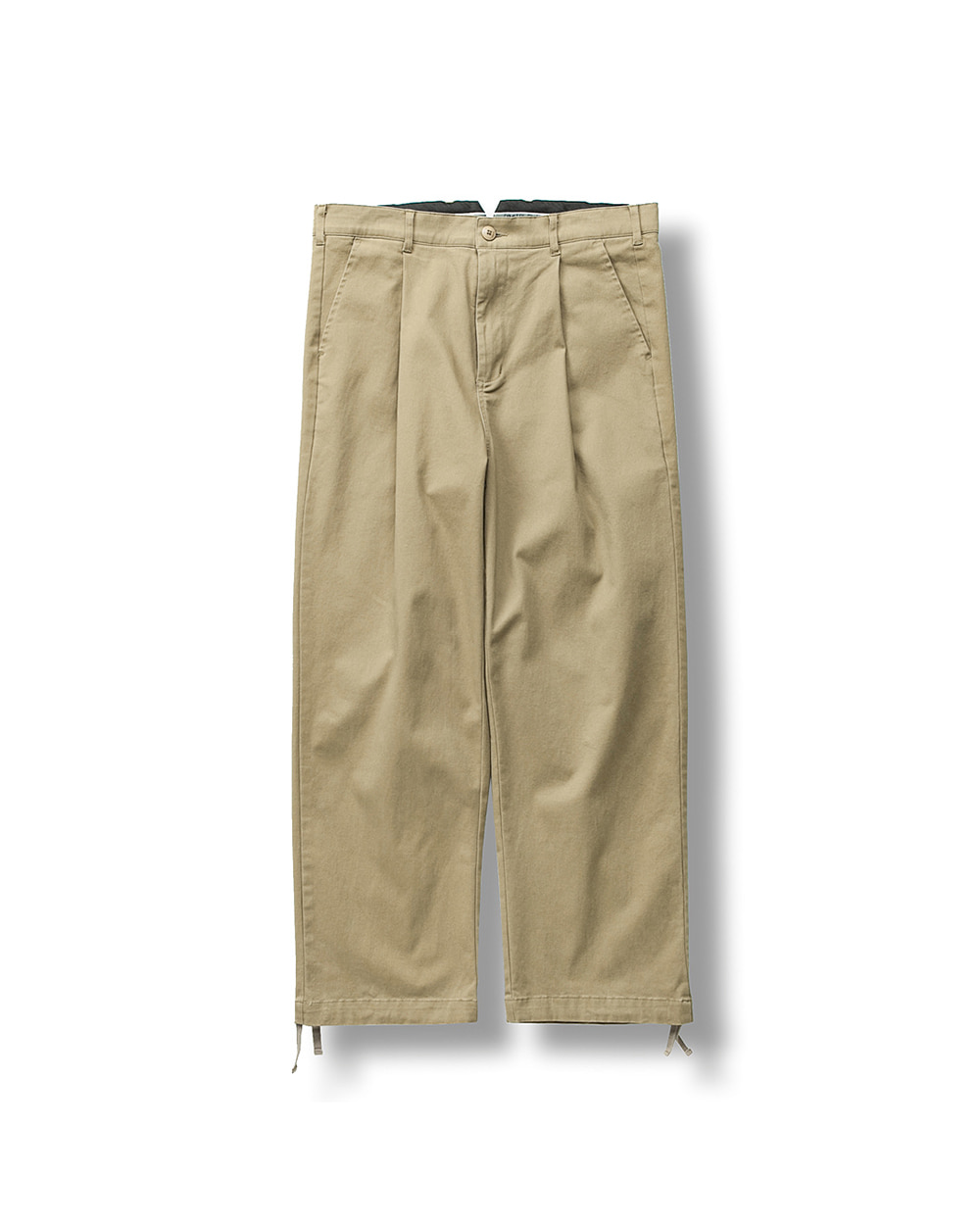 WIDEFIT CHINO PANTS BEIGE