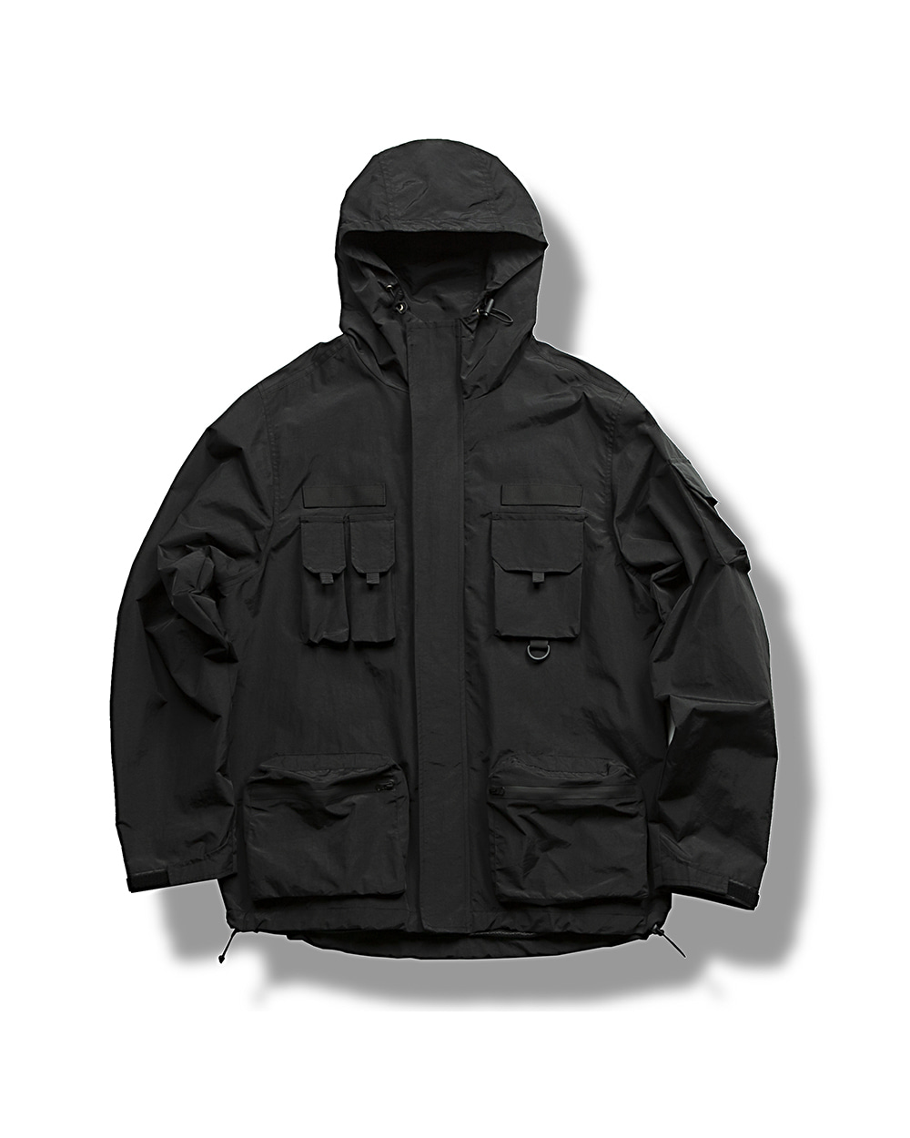 (VLADIMIR) WATERPROOF WIND JACKET BLACK