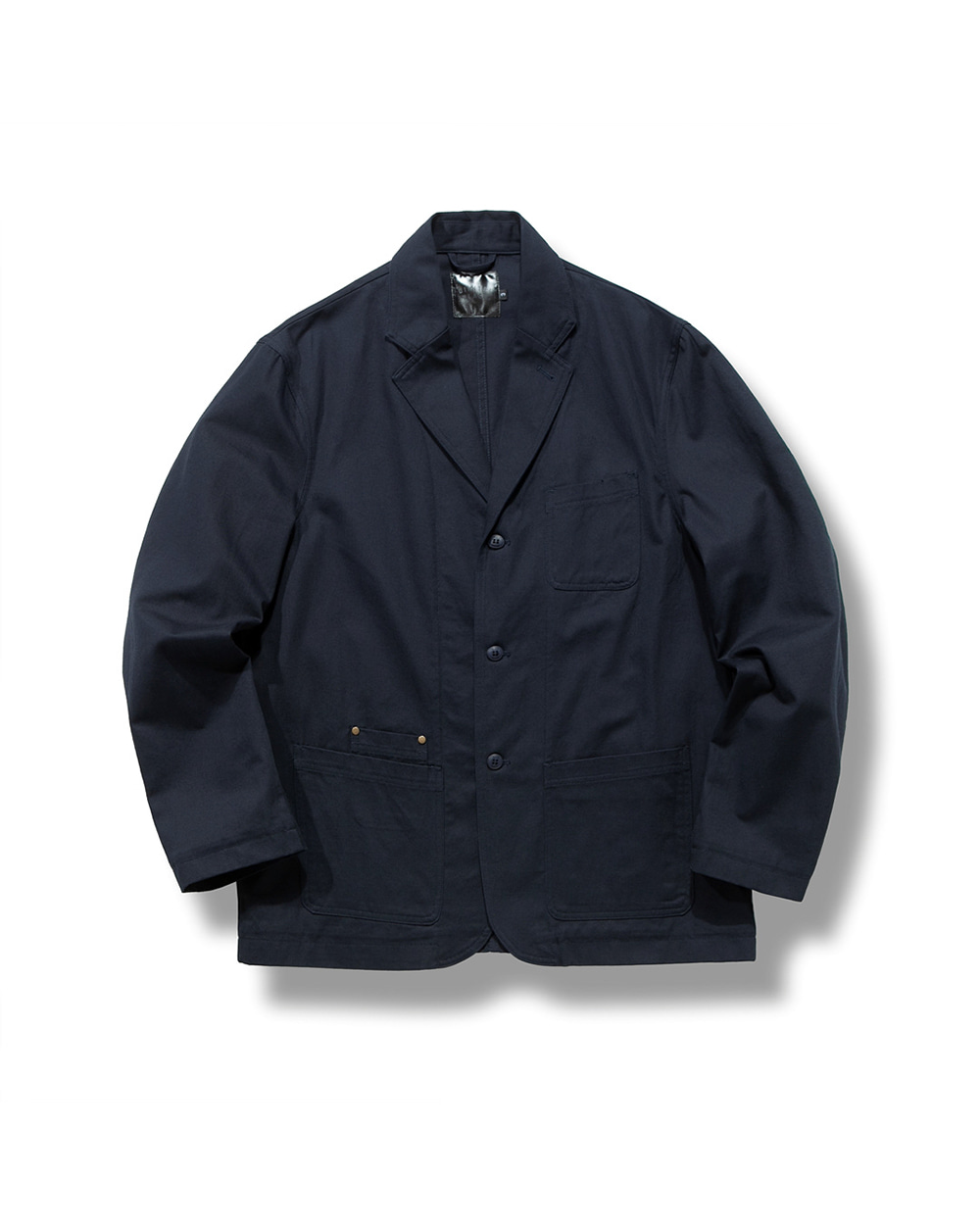 OBLIQUE SHOOTING JACKET NAVY