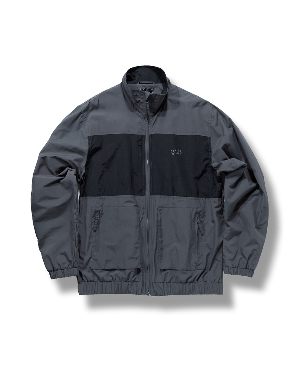 IPFU TRACK JACKET DARK GRAY