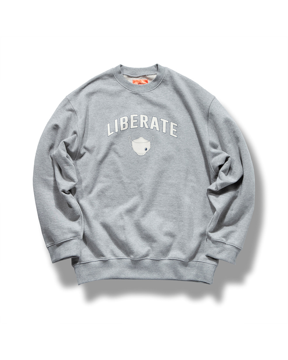 (VLADIMIR) LIBERATE SWEAT SHIRTS MELANGE GRAY