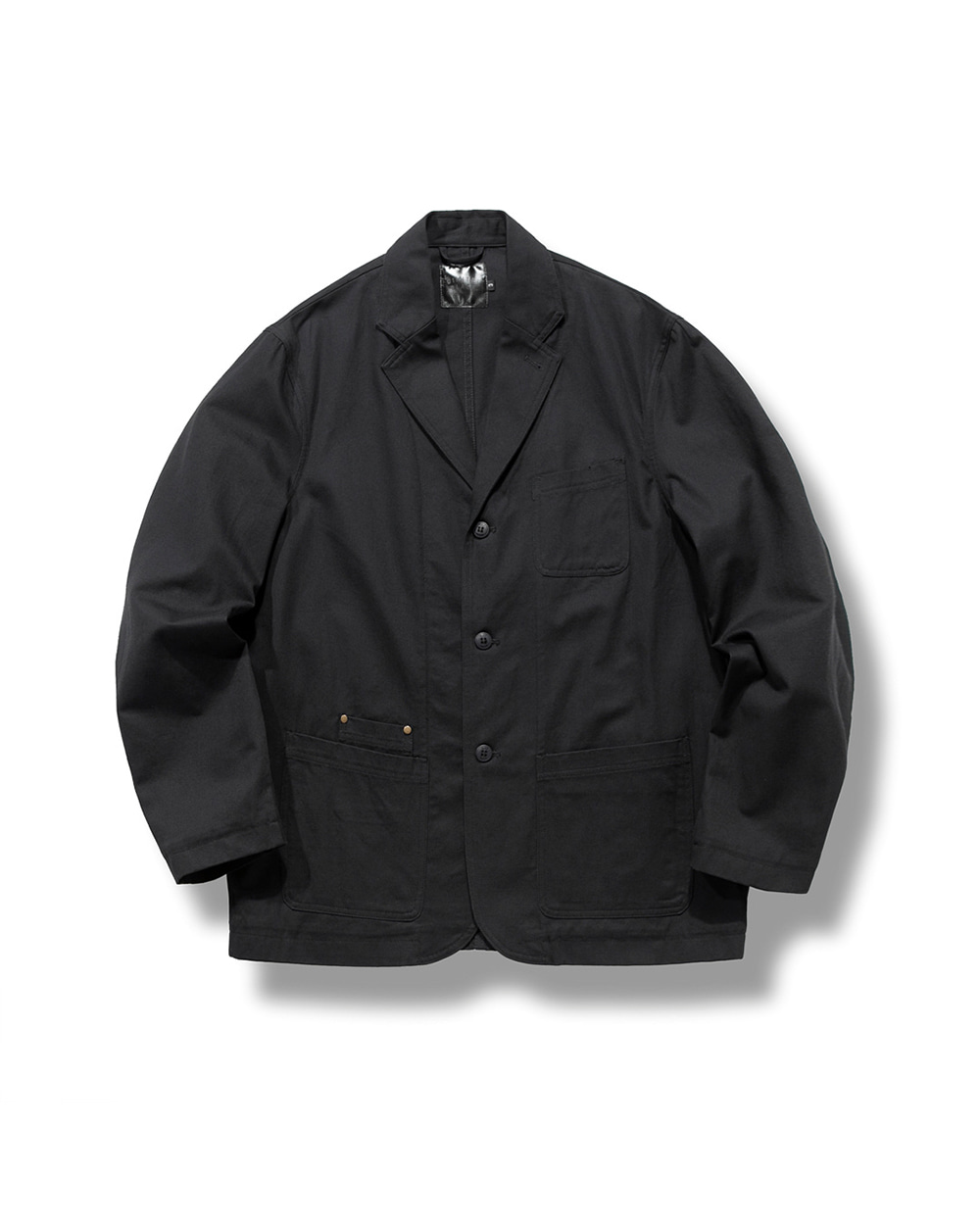 OBLIQUE SHOOTING JACKET BLACK