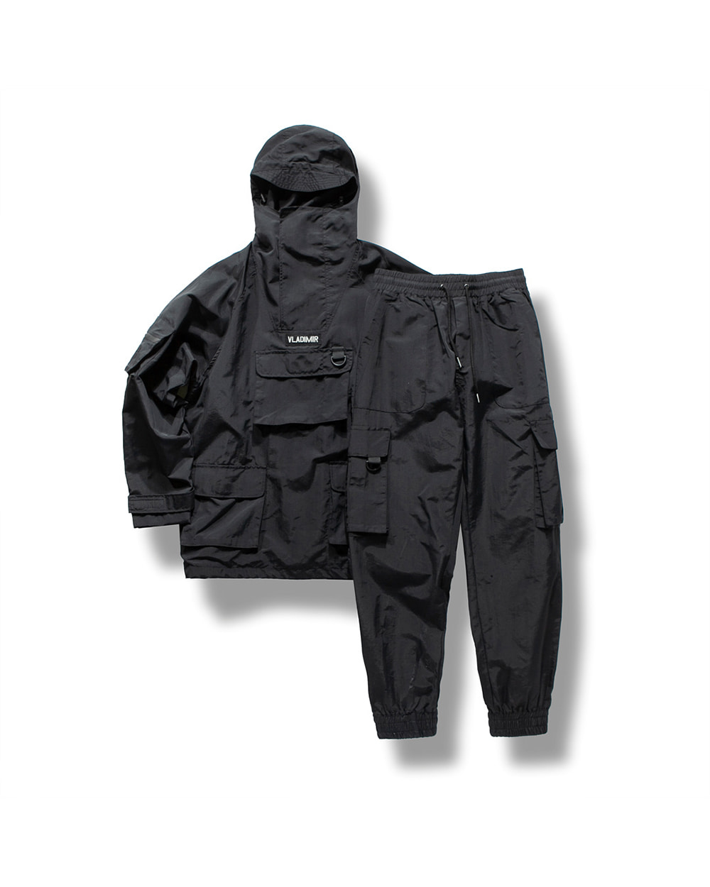 (VLADIMIR) WATERPROOF UTILITY SET-UP BLACK