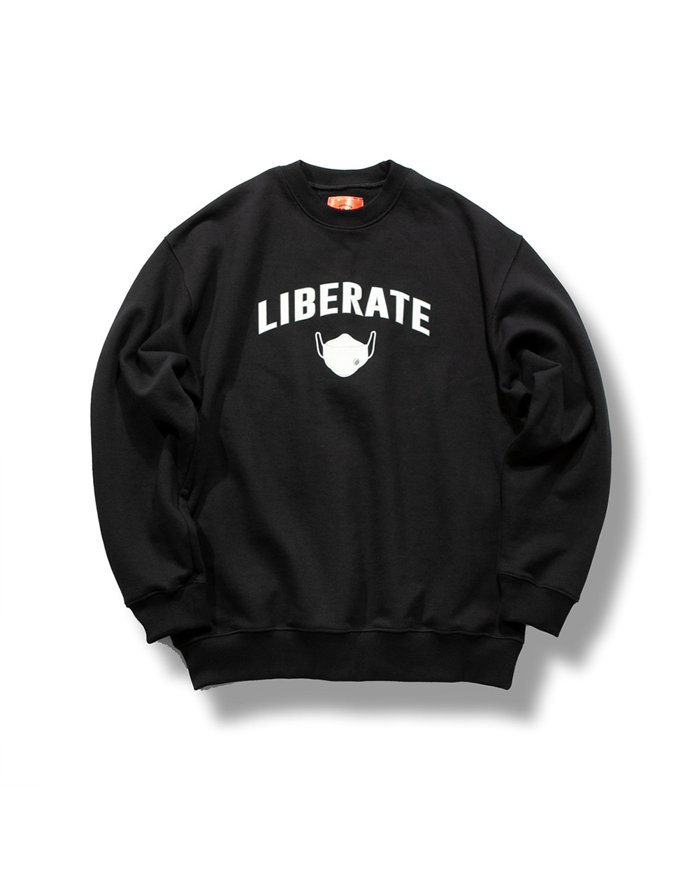 (VLADIMIR) LIBERATE SWEAT SHIRTS BLACK