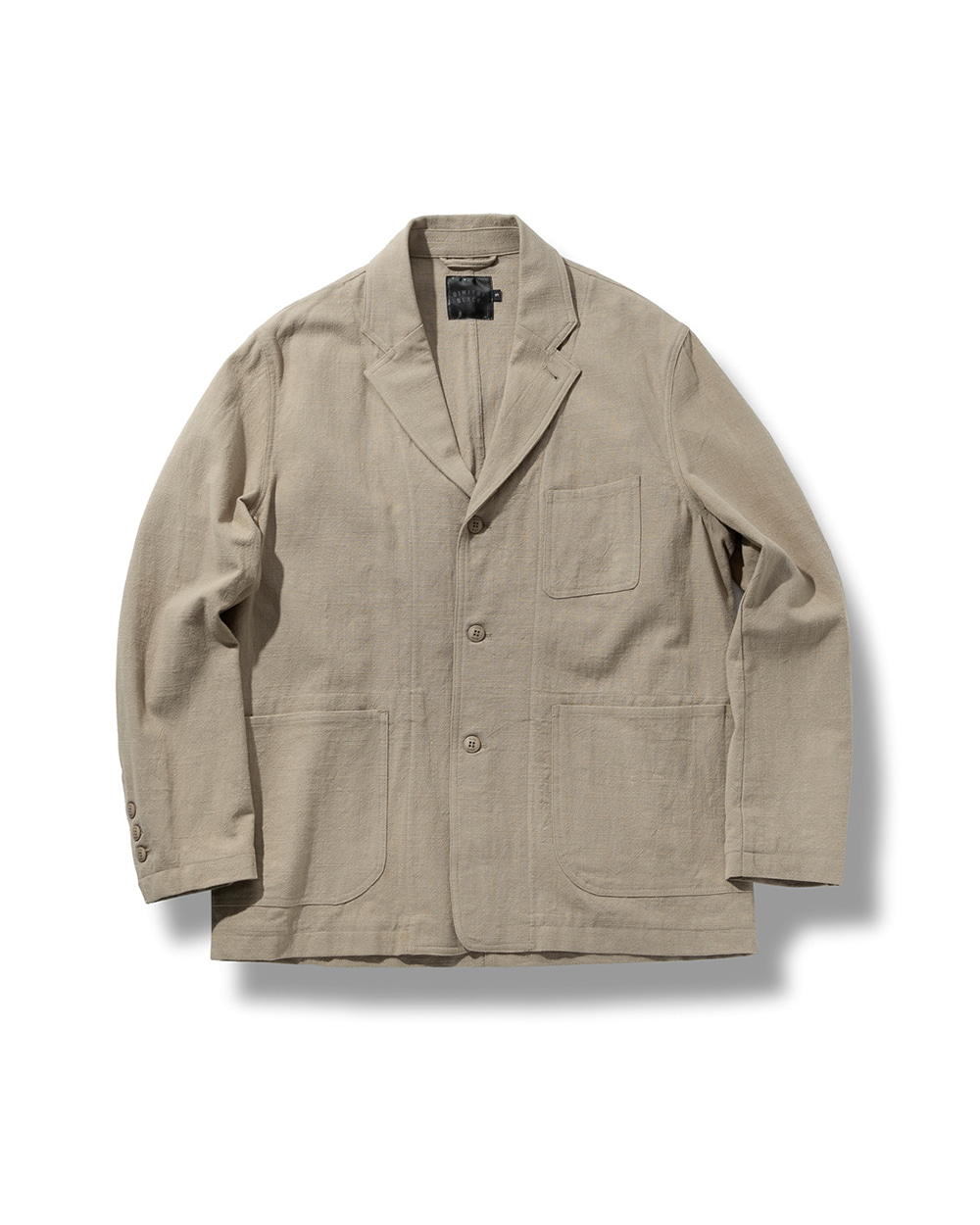 LINEN DAILY JACKET BEIGE