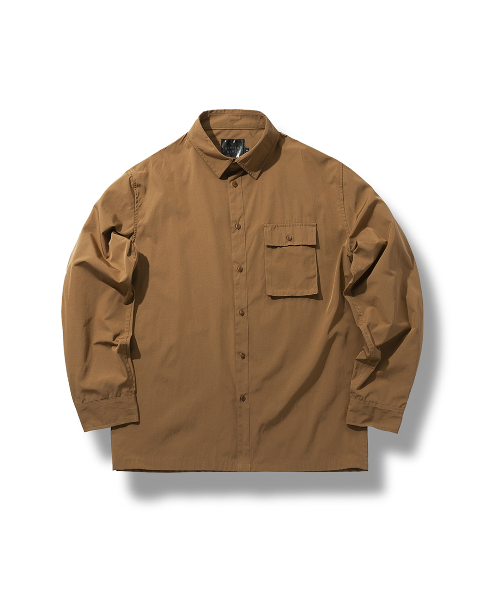 C/P SHIRTS JACKET CAMEL