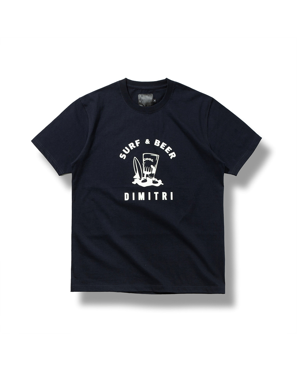 DYMAX SURF & BEER T-SHIRTS DARK NAVY
