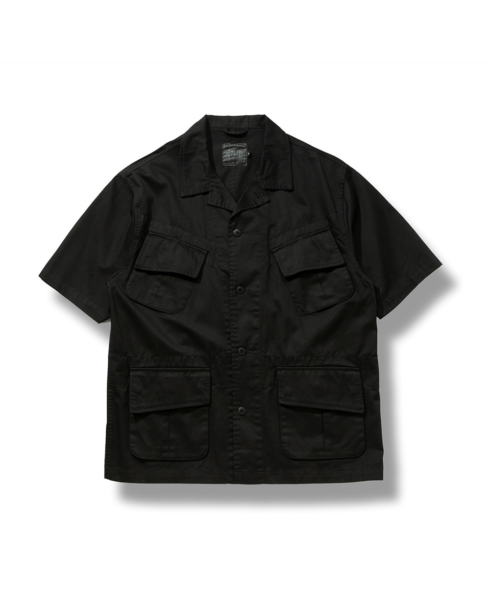 UTILITY JUNGLE HALF SHIRTS BLACK