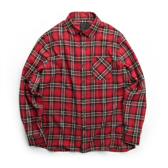 TARTAN CHECK SHIRT RED