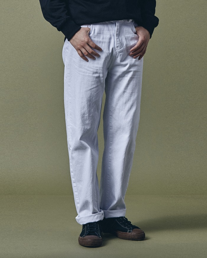 ALLSUNDAY JEANS TAPERED WHITE
