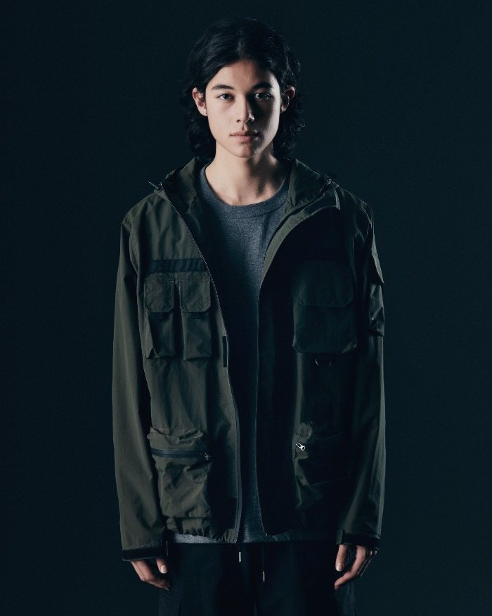 (VLADIMIR) WATERPROOF WIND JACKET OLIVE