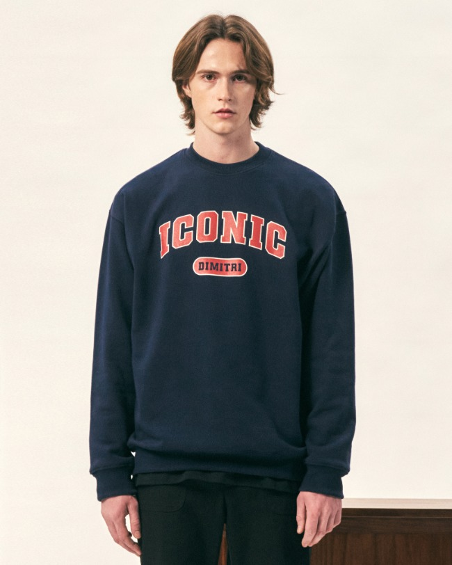ICONIC SWEAT SHIRT NAVY