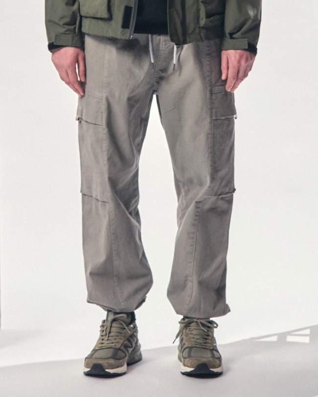 (VLADIMIR) VDMR JOGGER PANTS LIGHT GRAY