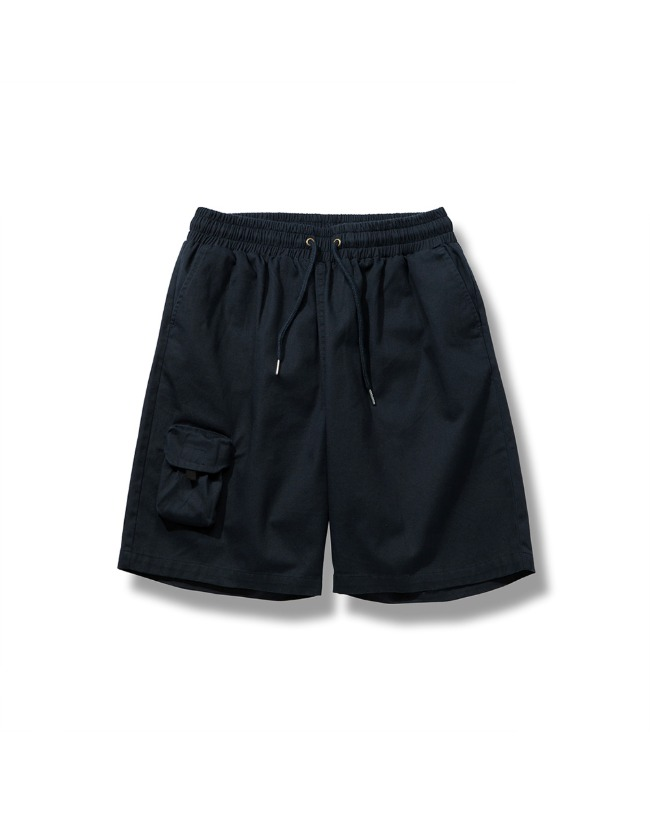 ANOTHER POCKET HALF PANTS NAVY