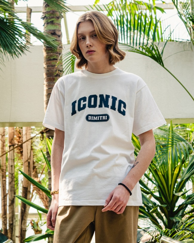 DYMAX ICONIC T-SHIRTS WHITE